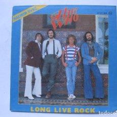 Discos de vinilo: THE WHO - LONG LIVE ROCK - SE VENDE SOLO PORTADA (SIN VINILO EN EL INTERIOR). Lote 195238071