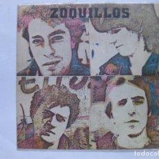 Discos de vinilo: ZOQUILLOS - ATRAPADO EN LA TELARAÑA - SE VENDE SOLO PORTADA (SIN VINILO EN EL INTERIOR). Lote 99836383