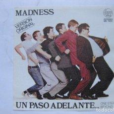 Discos de vinilo: MEGARARA PORTADA MADNESS PROMO - LEE - SE VENDE SOLO PORTADA (SIN VINILO EN EL INTERIOR). Lote 99836827