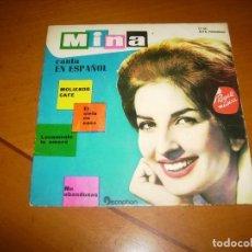 Discos de vinilo: EP : MINA : CANTA EN ESPAÑOL. Lote 99850019