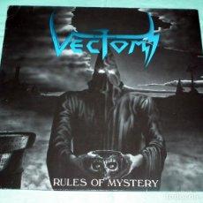 Discos de vinilo: LP VECTOM - RULES OF MYSTERY. Lote 99858983