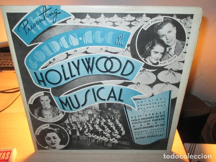 LOTE THE GOLDEN AGE OF THE HOLLYWOOD MUSICAL + GOLDEN AGE OF HOLLYWOOD STARS (Música - Discos - LP Vinilo - Bandas Sonoras y Música de Actores )