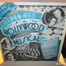 Discos de vinilo: LOTE THE GOLDEN AGE OF THE HOLLYWOOD MUSICAL + GOLDEN AGE OF HOLLYWOOD STARS. Lote 99859639