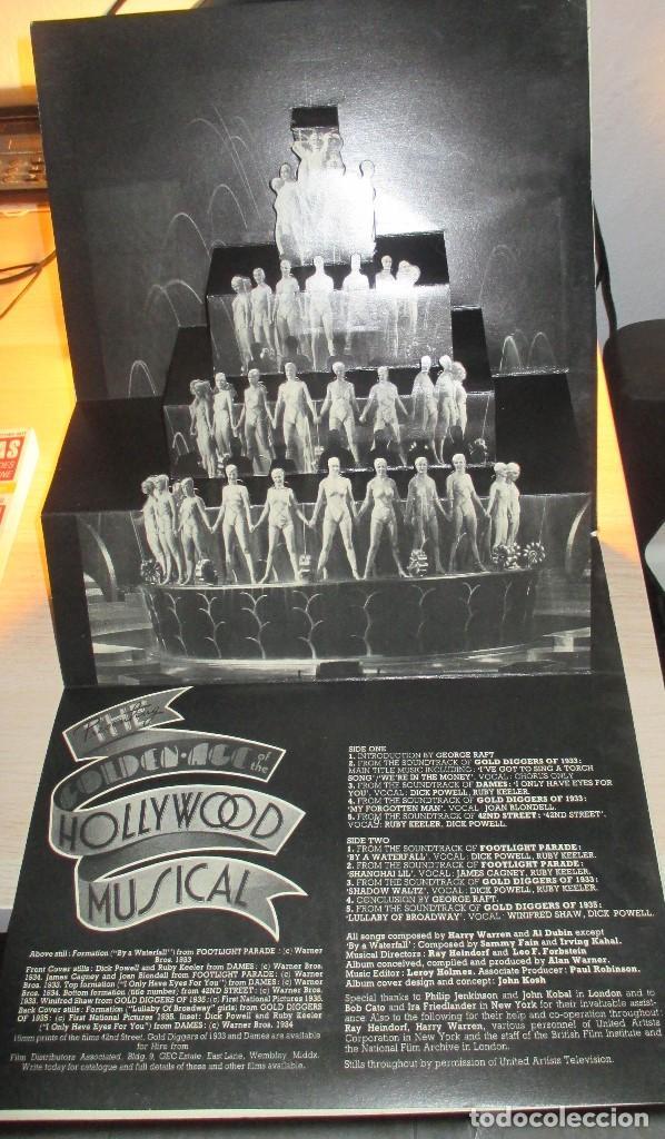 Discos de vinilo: LOTE THE GOLDEN AGE OF THE HOLLYWOOD MUSICAL + GOLDEN AGE OF HOLLYWOOD STARS - Foto 2 - 99859639