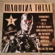 Discos de vinilo: DISCO VINILO. MAQUINA TOTAL 3 . Lote 99864215