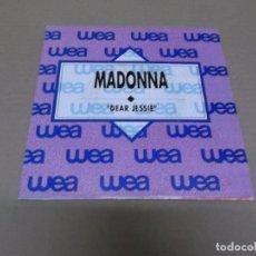 Discos de vinilo: MADONNA (SN) DEAR JESSIE AÑO 1989 – EDICION PROMOCIONAL. Lote 99884263