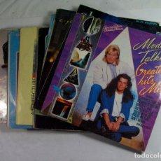 Discos de vinilo: CONJUNTO DE 21 DISCOS POP ROCK AÑOS 70 80. A-HA, DURAN DURAN, ULTRAVOX, COMUNARDS, SPANDAU BALLET, . Lote 99887479