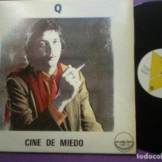 Discos de vinilo: Q - CINE DE MIEDO + 3 - LP PAÑOLETA RECORDS MINIMAL 1984 // SYNTH POP DARK WAVE GRUPO Q . Lote 99890103