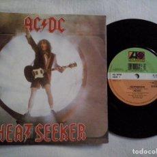 Discos de vinilo: MUSICA SINGLE: AC DC - HEAT SEEKER. ¡¡COLECCIONISTA,. Lote 99905731