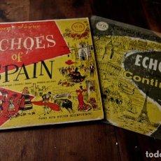 Discos de vinilo: ECHOES OF SPAIN Y ECHOES OF THE CONTINENT - EL DÚO ECHOES - LP - ESPECIAL COLECCIONISTAS. Lote 99913867