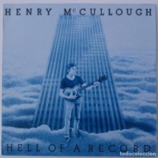 Discos de vinilo: HENRY MCCULLOUGH..HELL OF A RECORD.(LINE RECORDS.) GERMANY.. Lote 99932311