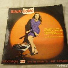 Discos de vinilo: LUIS PEÑA ET SON ORCHESTRE BOUM BOMO - DISQUE N°3 FRANCE EP. Lote 99934615