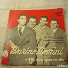 Discos de vinilo: MARINO MARINI Y SU CUARTETO: NEL BLU DIPINTO DI BLU + 3 (DURIUM COLUMBIA 1959). Lote 99934727