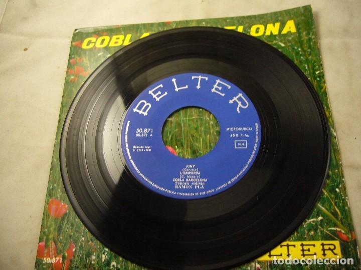 Discos de vinilo: COBLA BARCELONA - JUNY - ETC.. - SARDANES - EP BELTER 1961 - Foto 2 - 99934843