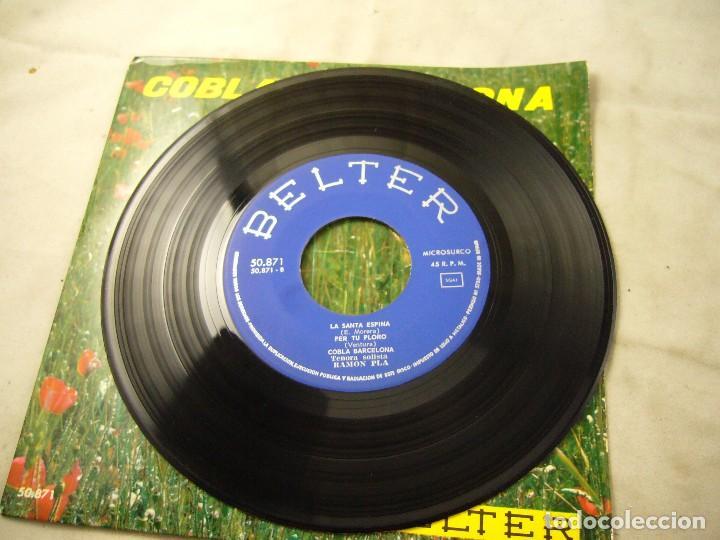 Discos de vinilo: COBLA BARCELONA - JUNY - ETC.. - SARDANES - EP BELTER 1961 - Foto 3 - 99934843