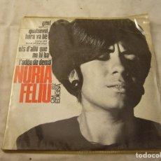 Discos de vinilo: 7'-EP- NURIA FELIU ?– GENT (PEOPLE) (HARD BOP-COOL JAZZ). Lote 99938131
