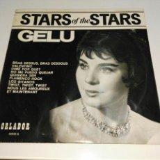 Discos de vinilo: GELU- LP STARS OF THE STARS- MINI LP EDICION ESPECIAL ORLADOR 1965 1. Lote 99942228