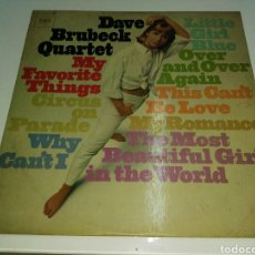 Discos de vinilo: DAVE BRUBECK QUARTET- LP MY FAVORITE THINGS- CBS MADE IN FRANCE 1. Lote 99944938