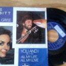 Discos de vinilo: SINGLE (VINILO) DE CRYSTAL GAYLE AÑOS 80. Lote 99952099