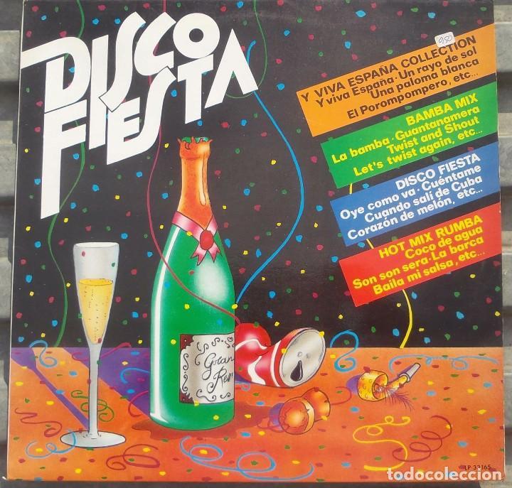 VINILO LP DISCO FIESTA - Y VIVA ESPAÑA COLLECTION, BAMBA MIX, DISCO FIESTA, HOT MIX RUMBA,1982 (Música - Discos de Vinilo - EPs - Disco y Dance)