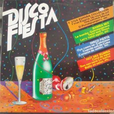 Discos de vinilo: VINILO LP DISCO FIESTA - Y VIVA ESPAÑA COLLECTION, BAMBA MIX, DISCO FIESTA, HOT MIX RUMBA,1982. Lote 99952967
