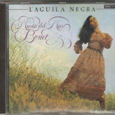 Discos de vinilo: MARIA DEL MAR BONET CD L'ÀGUILA NEGRA 1991 ZAFIRO. Lote 151531880