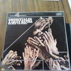 Discos de vinilo: LP ESPIRITUALES A GRAN BANDA. TED HEAT Y SU MÚSICA. Lote 99960411