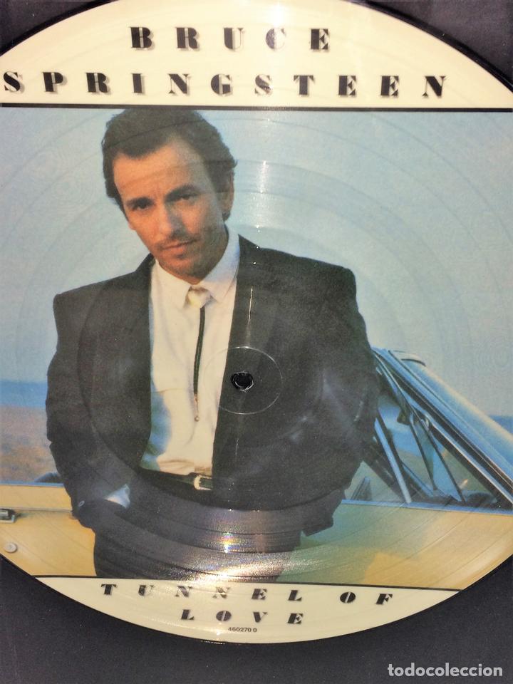 LP THE TUNNEL OF LOVE. BRUCE SPRINGSTEEN VINILO. ENMARCADO. 1987 (Música - Discos - Singles Vinilo - Cantautores Extranjeros)