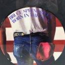 Discos de vinilo: LP VINILO BORN IN THE U.S.A.. BRUCE SPRINGSTEEN. ENMARCADO. 1984. Lote 89745660