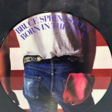 Discos de vinilo: LP VINILO BORN IN THE U.S.A.. BRUCE SPRINGSTEEN. ENMARCADO. 1984. Lote 197643307