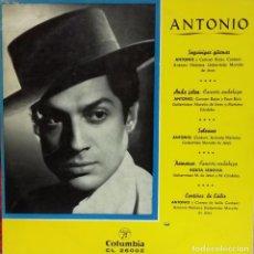 Discos de vinilo: ANTONIO MAIRENA - ANTONIO SEGUIRIYAS GITANAS LP 10 PULGADAS SPAIN . Lote 99965151