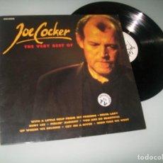 Discos de vinilo: JOE COCKER - THE VERY BEST OF . ...LP DE ARCADA - EDICION ESPAÑOLA DE 1991 - 16 TEMAS. Lote 100000835