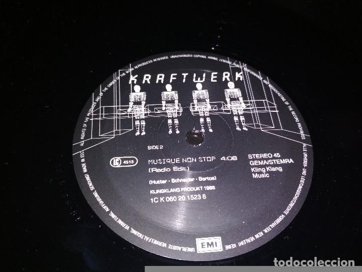 Discos de vinilo: KRAFTWERK. Musique non stop - Foto 4 - 100002863