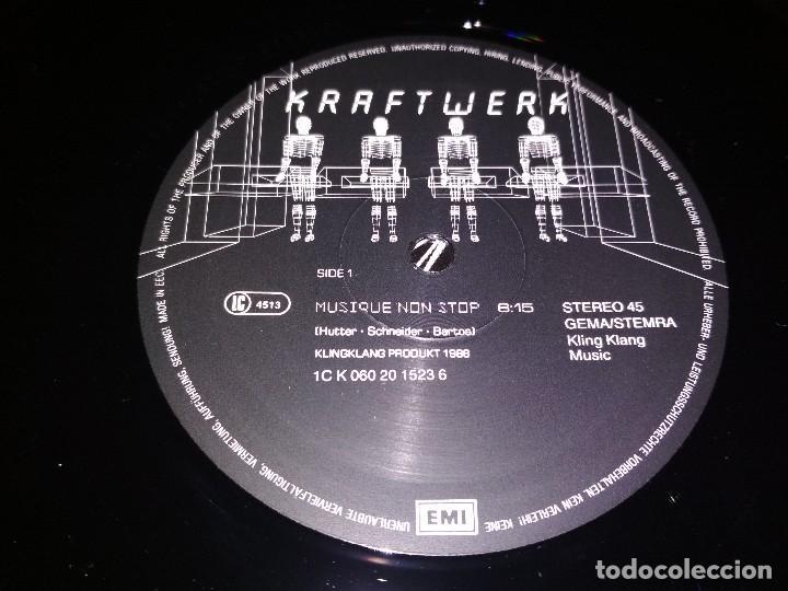 Discos de vinilo: KRAFTWERK. Musique non stop - Foto 5 - 100002863