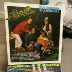 Discos de vinilo: 2 DISCOS DE VINILO DE VILLANCICOS POPULARES. Lote 100004892