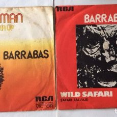 Discos de vinilo: SINGLES DE BARRABAS - CHEER UP - WILD SAFARI. Lote 100017595