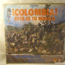 Discos de vinilo: COLOMBIA ESTA ES TU MUSICA. Lote 100024851