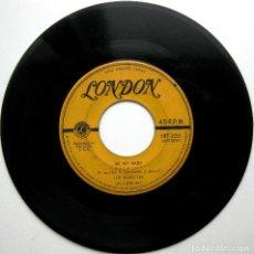 Discos de vinilo: THE RONETTES - BE MY BABY - SINGLE LONDON RECORDS 1963 JAPAN (EDICIÓN JAPONESA) BPY. Lote 100036219