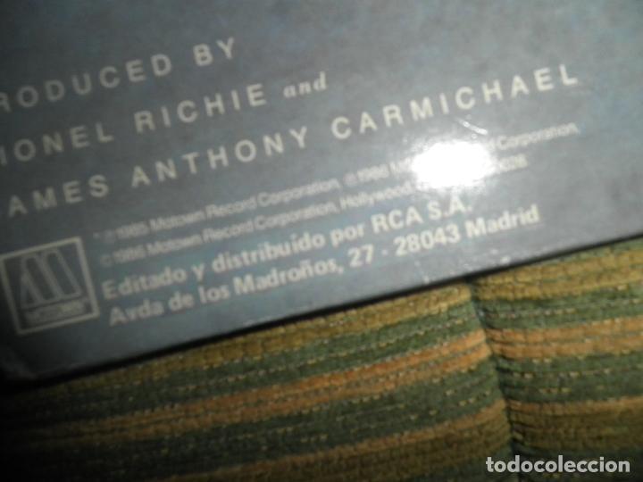 Discos de vinilo: LIONEL RICHIE - DANCING ON THE CEILING LP - ORIGINAL ESPAÑOL - MOTOWN 1986 - FUNDA INT. ORIGINAL - - Foto 3 - 141569782