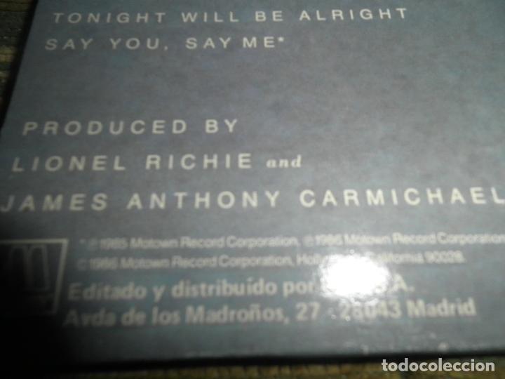 Discos de vinilo: LIONEL RICHIE - DANCING ON THE CEILING LP - ORIGINAL ESPAÑOL - MOTOWN 1986 - FUNDA INT. ORIGINAL - - Foto 4 - 141569782