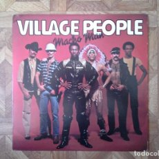 Discos de vinilo: VILLAGE PEOPLE - MACHO MAN - 2º LP USA 1978 - CARPETA VG++ VINILO VG++. Lote 100055551