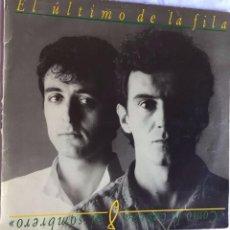 Discos de vinilo: EL ÚLTIMO DE LA FILA. COMO LA CABEZA AL SOMBRERO. Lote 100059591