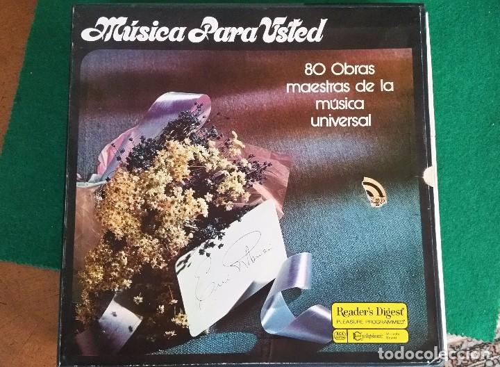 MUSICA PARA USTED 10 LPS 80 OBRAS MAESTRAS DE LA MÚSICA UNIVERSAL (Música - Discos - LP Vinilo - Orquestas)