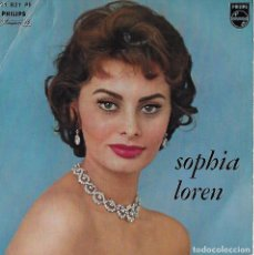 Discos de vinilo: SOPHIA LOREN. COLECCION. 2 EP´S. Lote 100074011