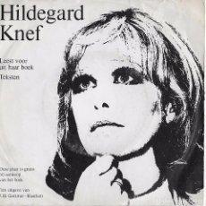 Discos de vinilo: HILDEGARD KNEF. COLECCIÓN. 2 EP´S. Lote 100076699
