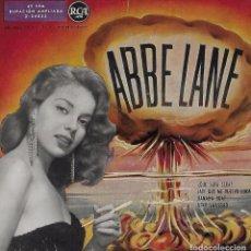 Disques de vinyle: ABBE LANE. MARILYN MONROE. COLECCION. 2 EP´S. Lote 100078147