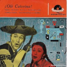 Discos de vinilo: CATERINA VALENTE. COLECCION. 2 EP´S. Lote 100078351