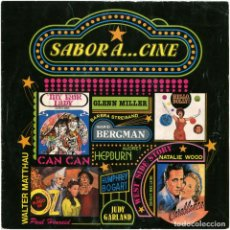 Discos de vinilo: SABOR A... CINE (MONTSERRAT ROS, RAMÓN LLENAS...) - SG SPAIN 1993 - HORUS 50.292. Lote 100085083
