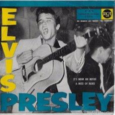 Dischi in vinile: ELVIS PRESLEY. IT´S OR NEVER. SINGLE 1960. Lote 100126631