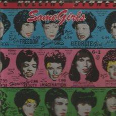 Discos de vinilo: ROLLING STONES SOME GIRLS TROQUELADO. Lote 100132231